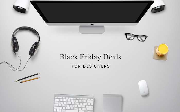 Black Friday deals for designers